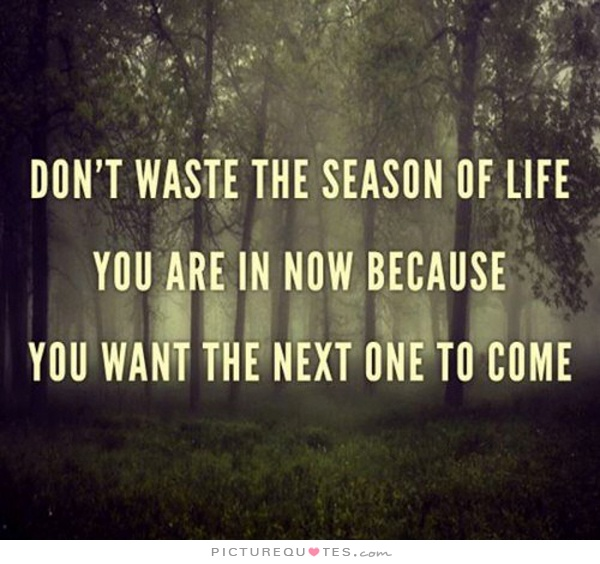 dont-waste-the-season-of-life-you-are-in-now-because-you-want-the-next-one-to-come-quote-1